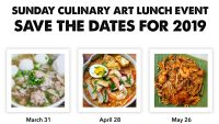 Sunday Lunch – Save the Dates 2019